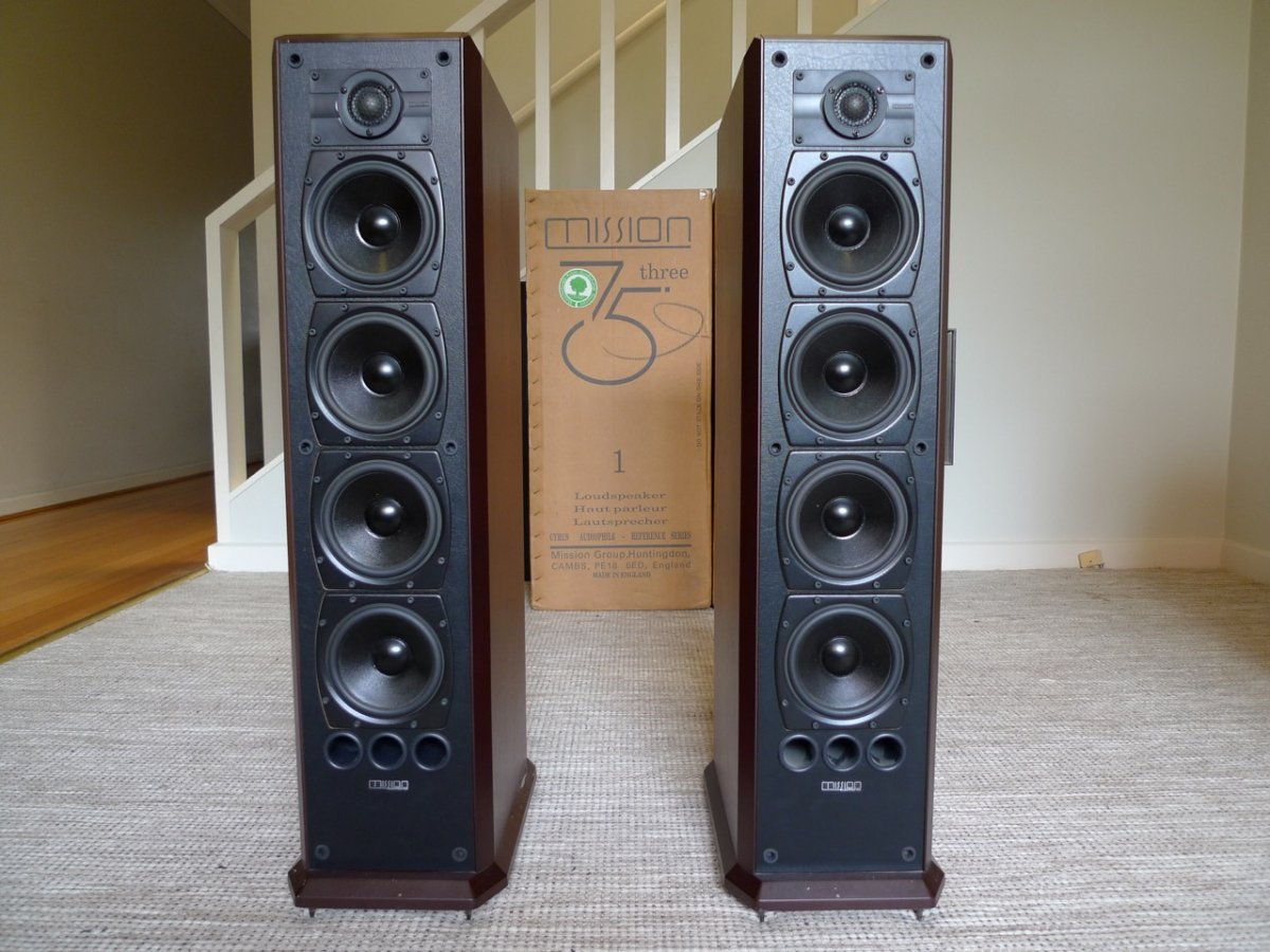 Fs Mission 753 Loudspeakers Classifieds Audio Stereonet