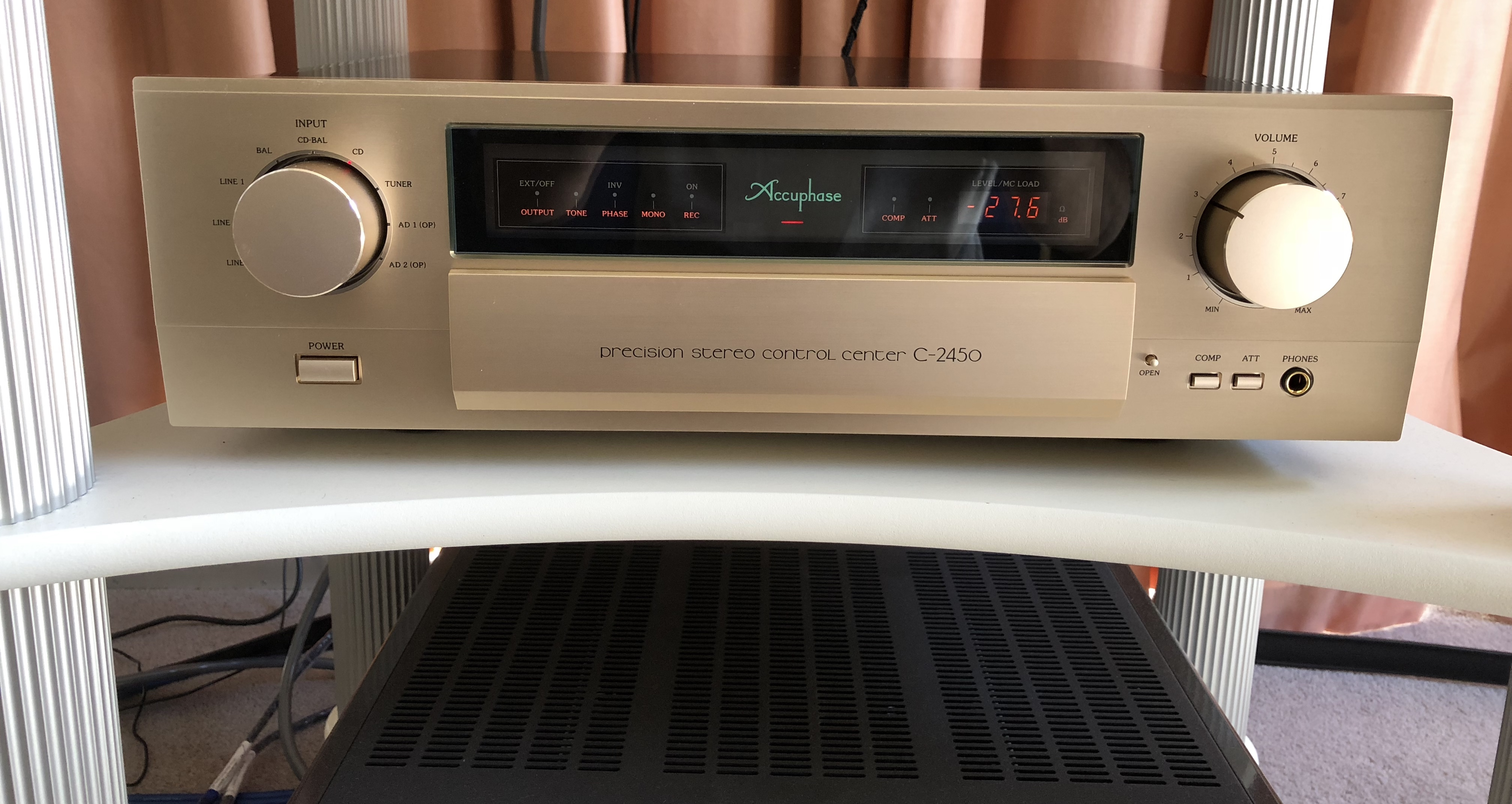 WITHDRAWN OR RELISTED: FS: Accuphase C2450 preamplifier