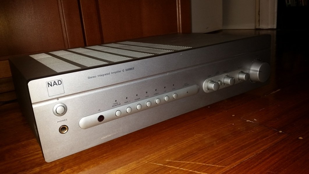 FS: NAD C320BEE Stereo Integrated Amplifier - Classifieds - Audio