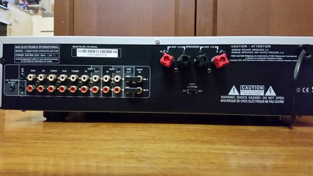 FS: NAD C320BEE Stereo Integrated Amplifier - Classifieds