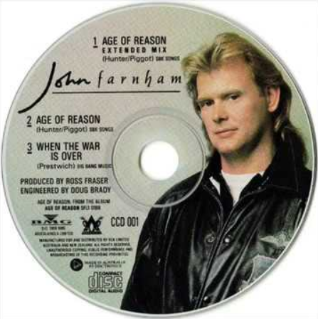 age of reason john farnham About john farnham in a country of over 20 million people, john farnham is the one australian artist who stages arena-sized concerts whenever he tours to satisfy the demand he is, without challenge, one of australia's most successful solo artists to date, on-stage and on record.