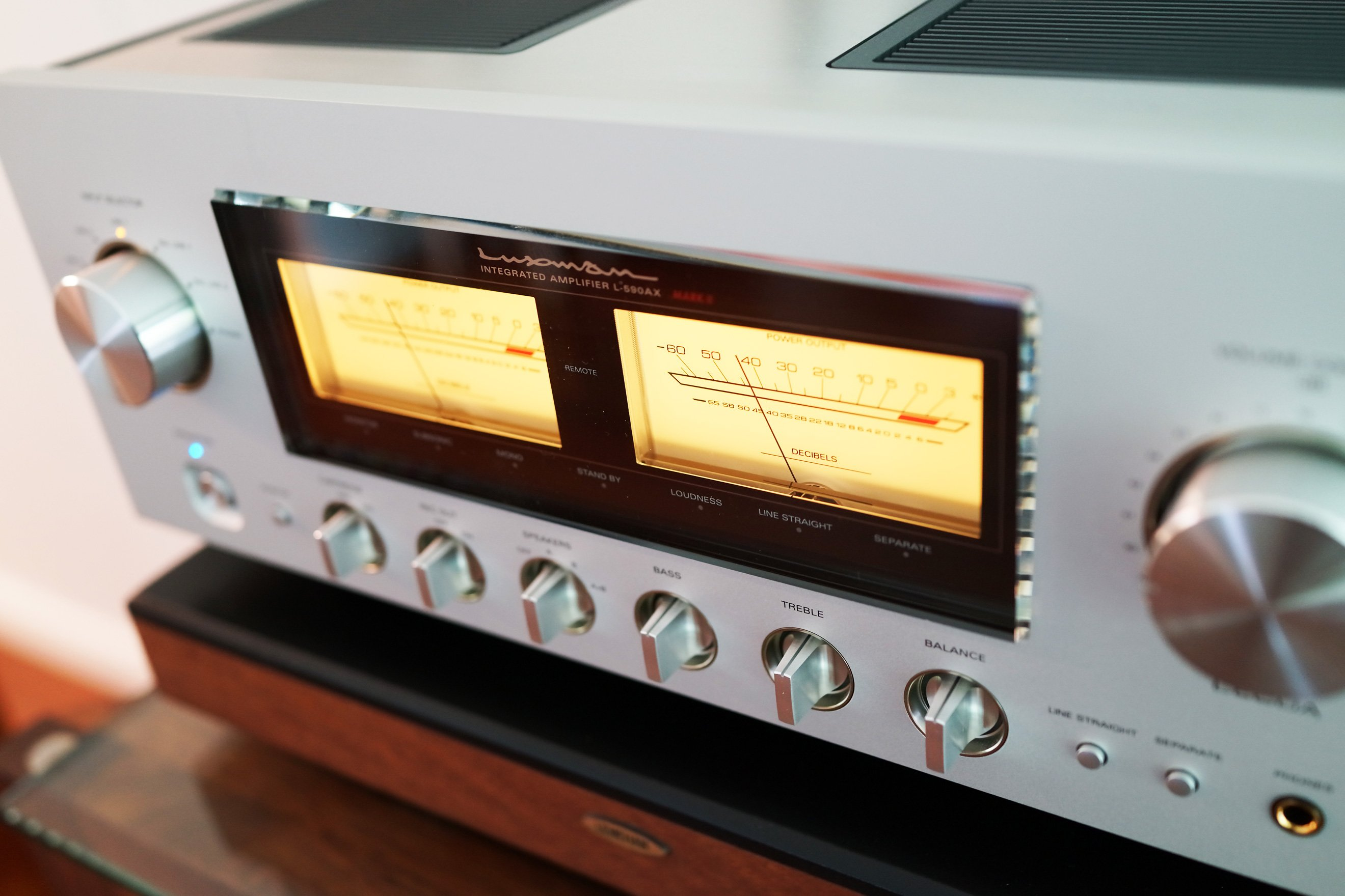 SOLD: FS: Luxman 590AXII 30wpc Class A Int Amp - 6 months old