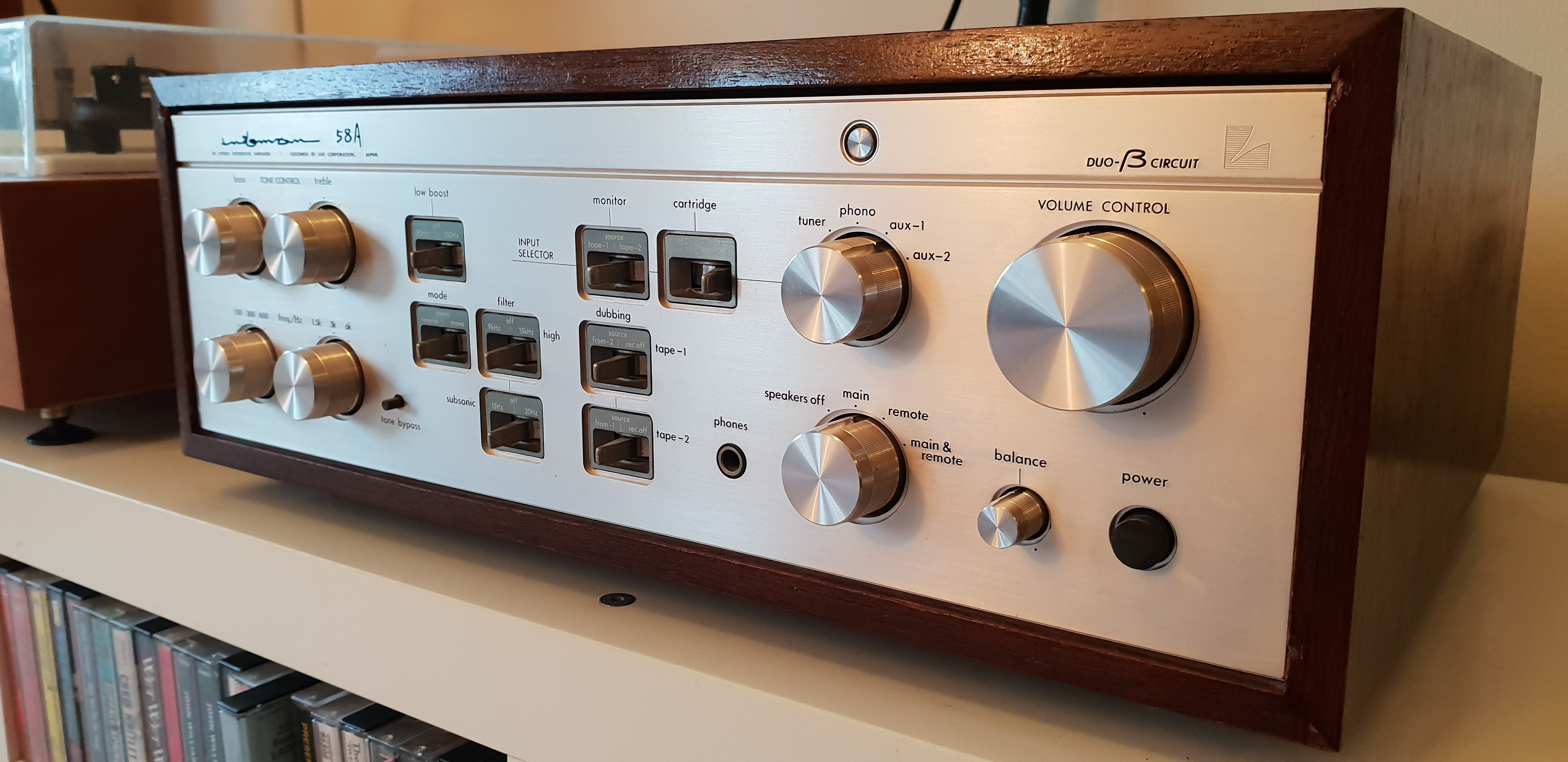 SOLD: FS: LUXMAN L-58A - Classifieds - Audio - StereoNET