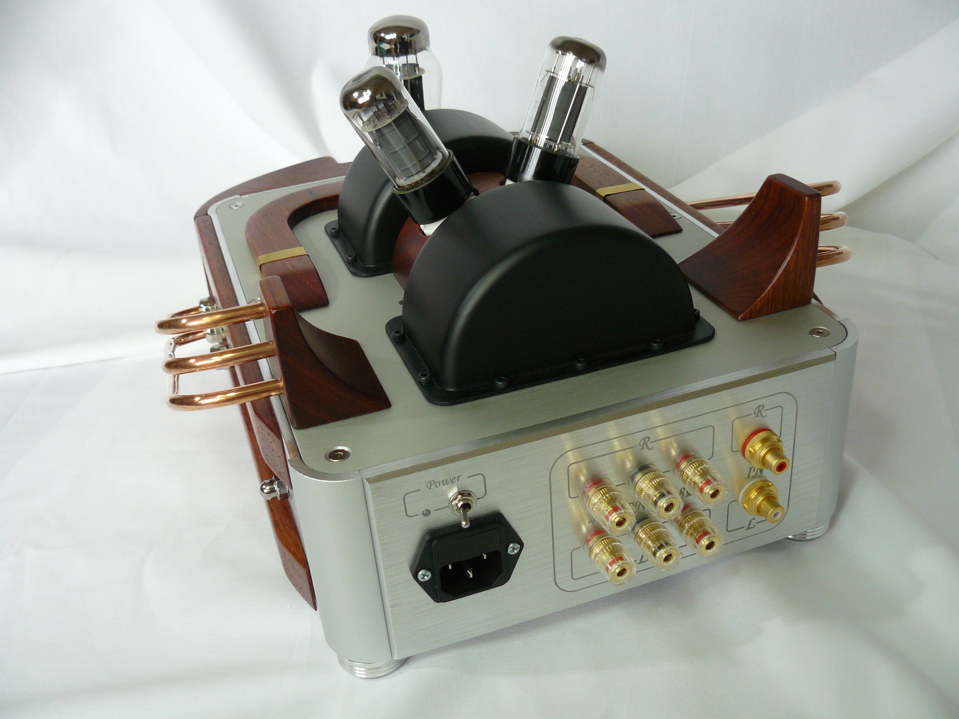 Tube + solid state amp in one case - DIY Audio Projects