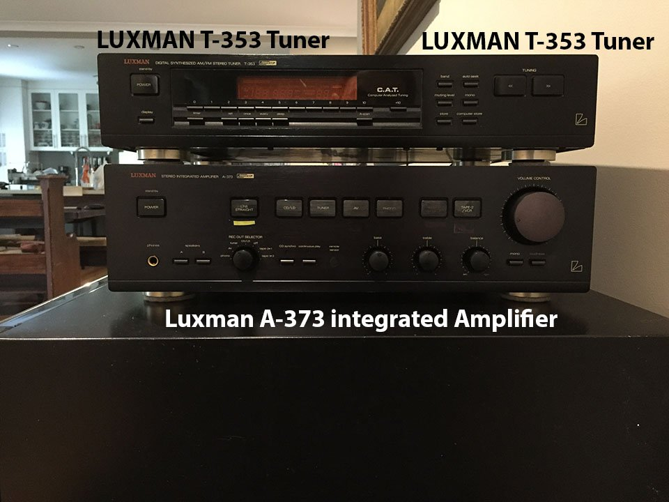 FS: VINTAGE 90'S STEREO EQUIPMENT (by LUXMAN) - Classifieds - Audio