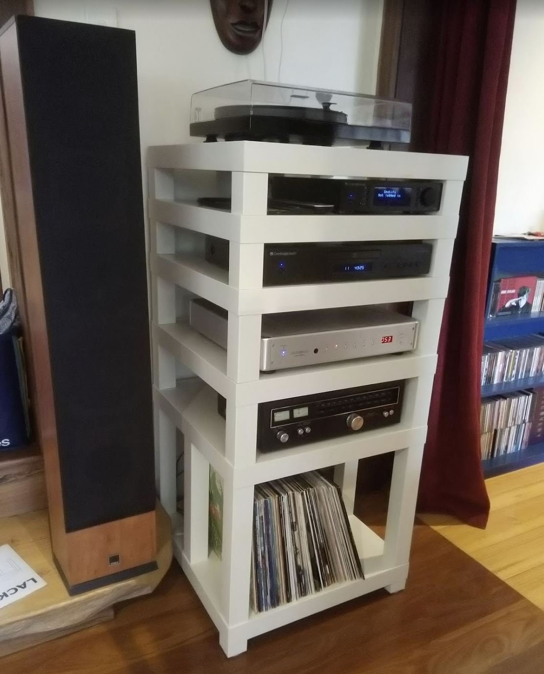 Ikea Lack Table Hifi Rack Diy Audio Projects Stereonet