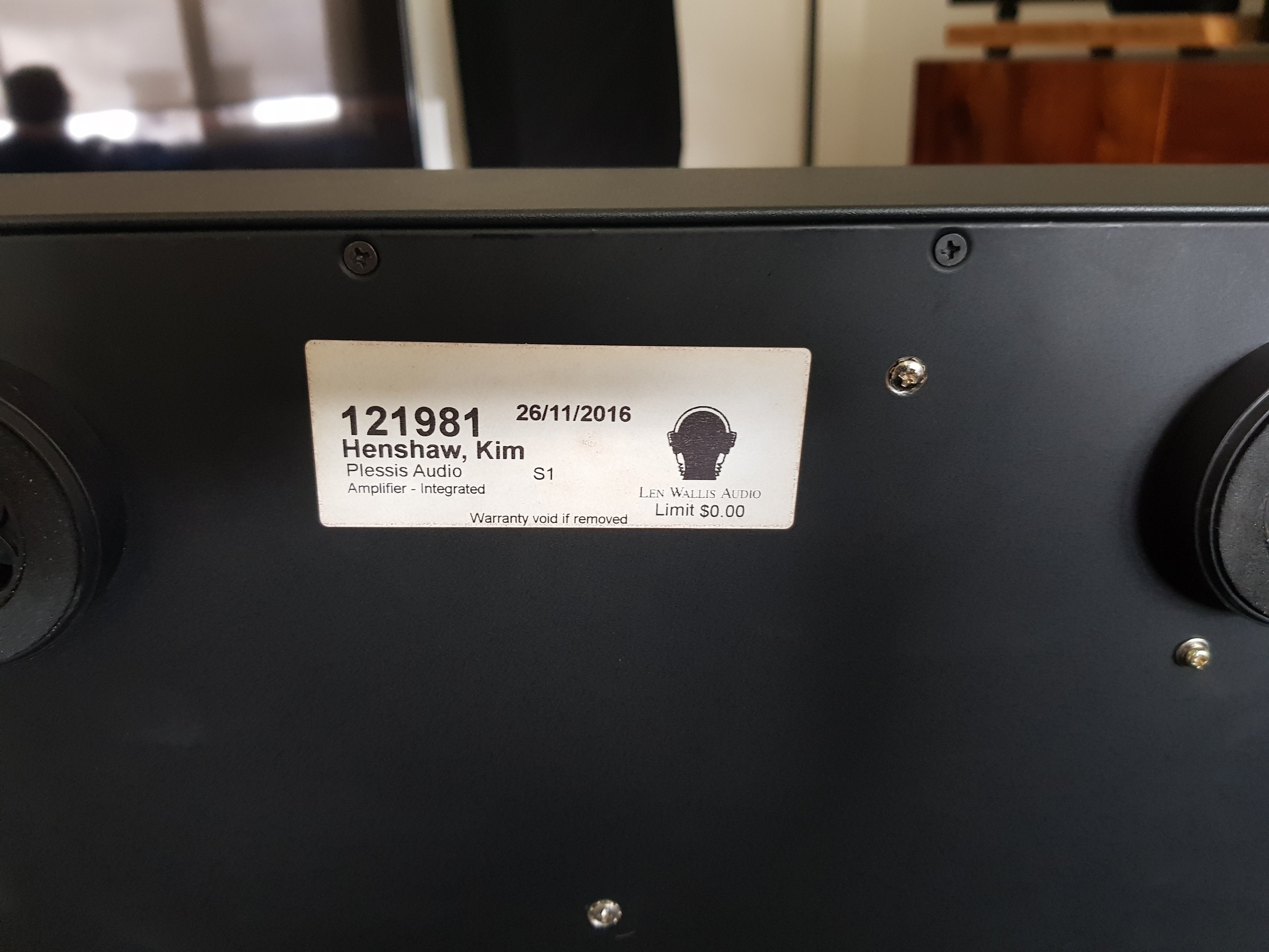 FS: PLESSEY S1 INTEGRATED AMP