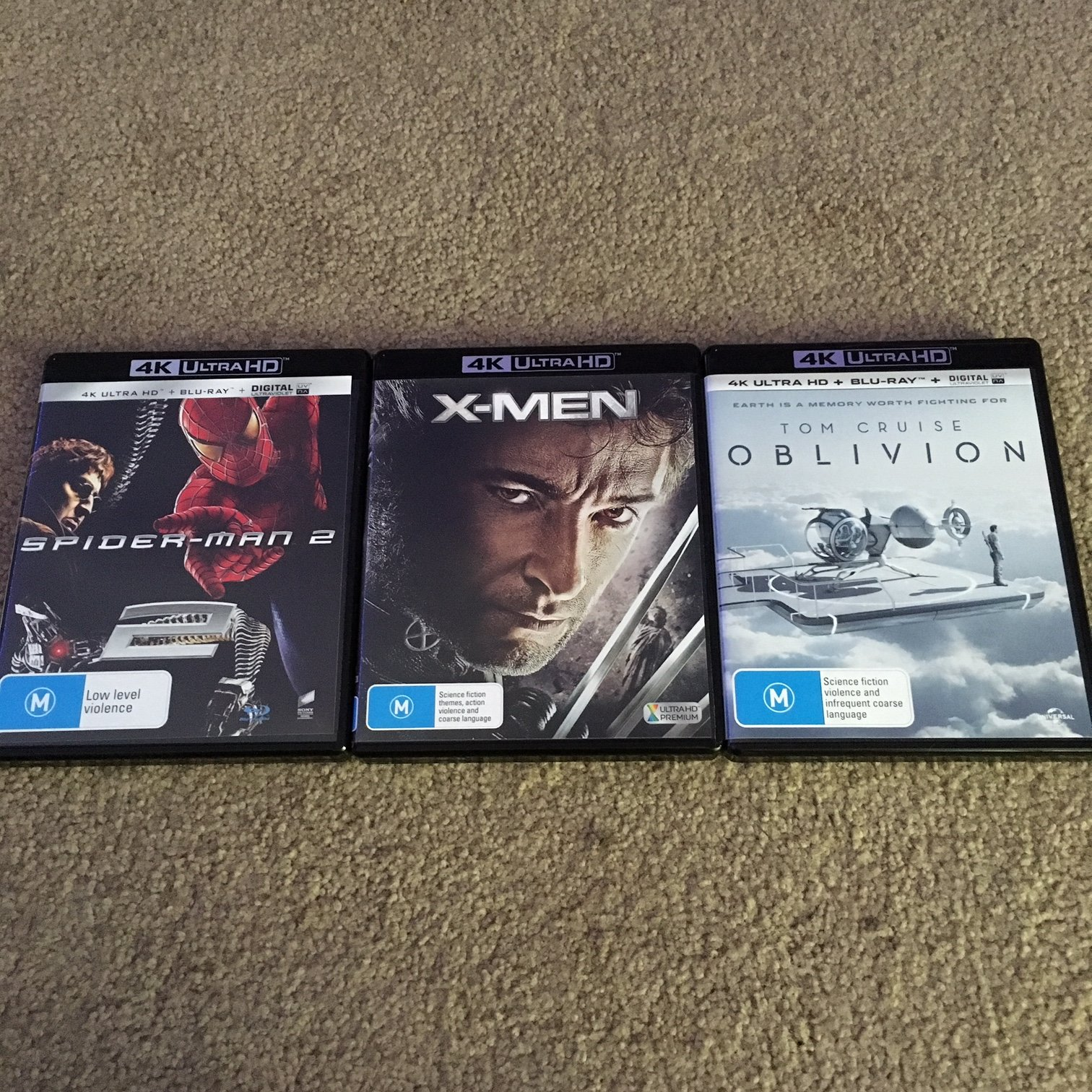 FS: 4k Movies x3 - Classifieds - Vinyl, CD, and Blu-ray - StereoNET