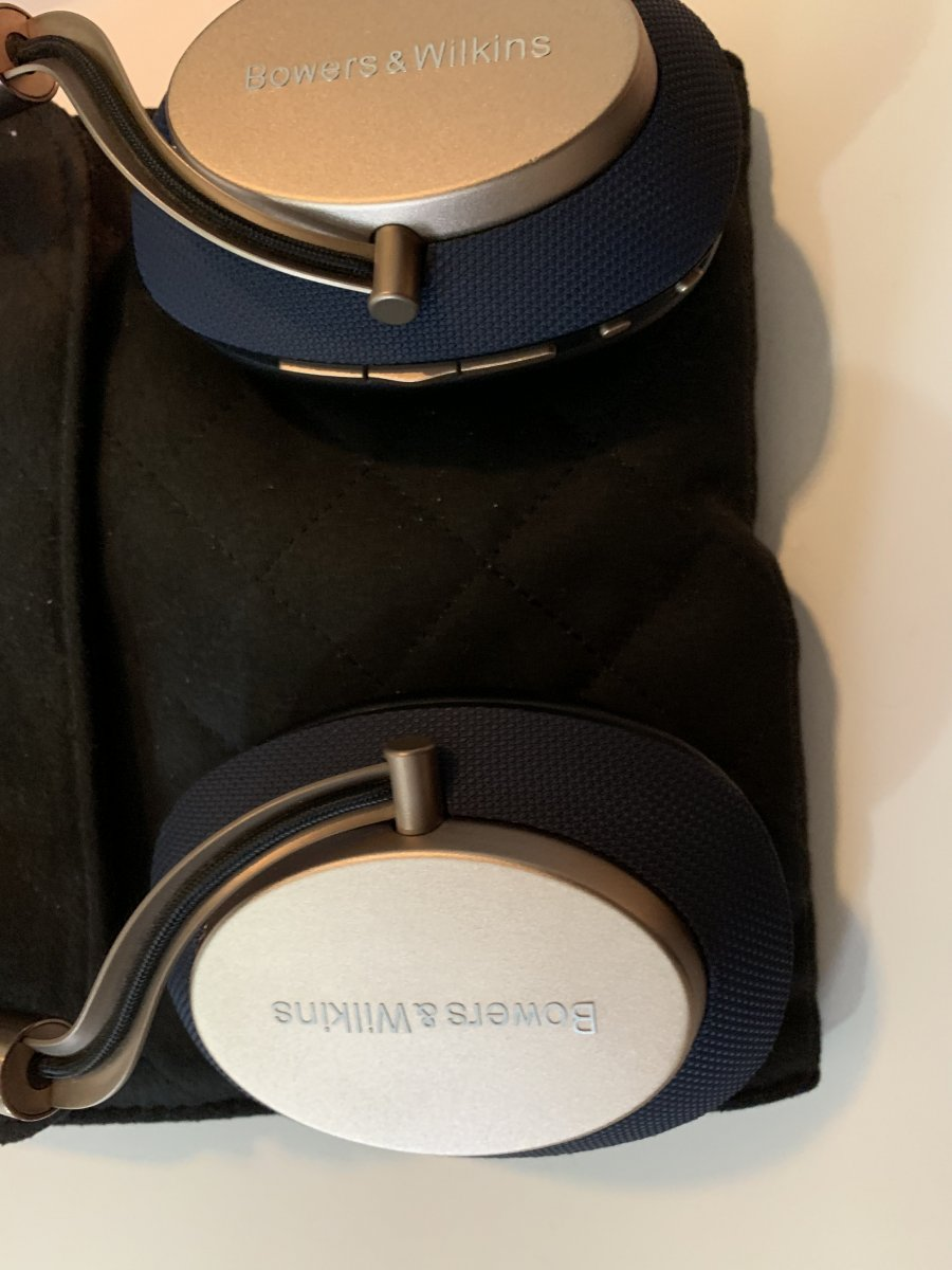 Fs Bowers And Wilkins Px Headphones Blue Gold