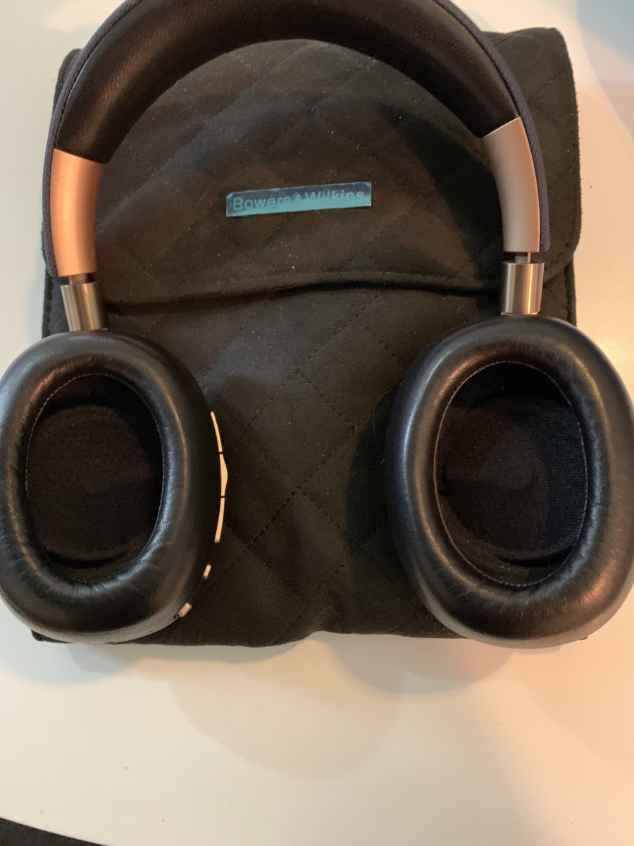 fs bowers and wilkins px headphones blue gold classifieds audio stereonet. Black Bedroom Furniture Sets. Home Design Ideas
