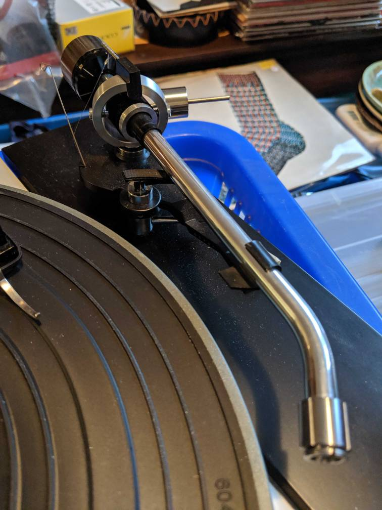 Unknown tonearm on thorens td 150     - Vinyl and Turntables - StereoNET