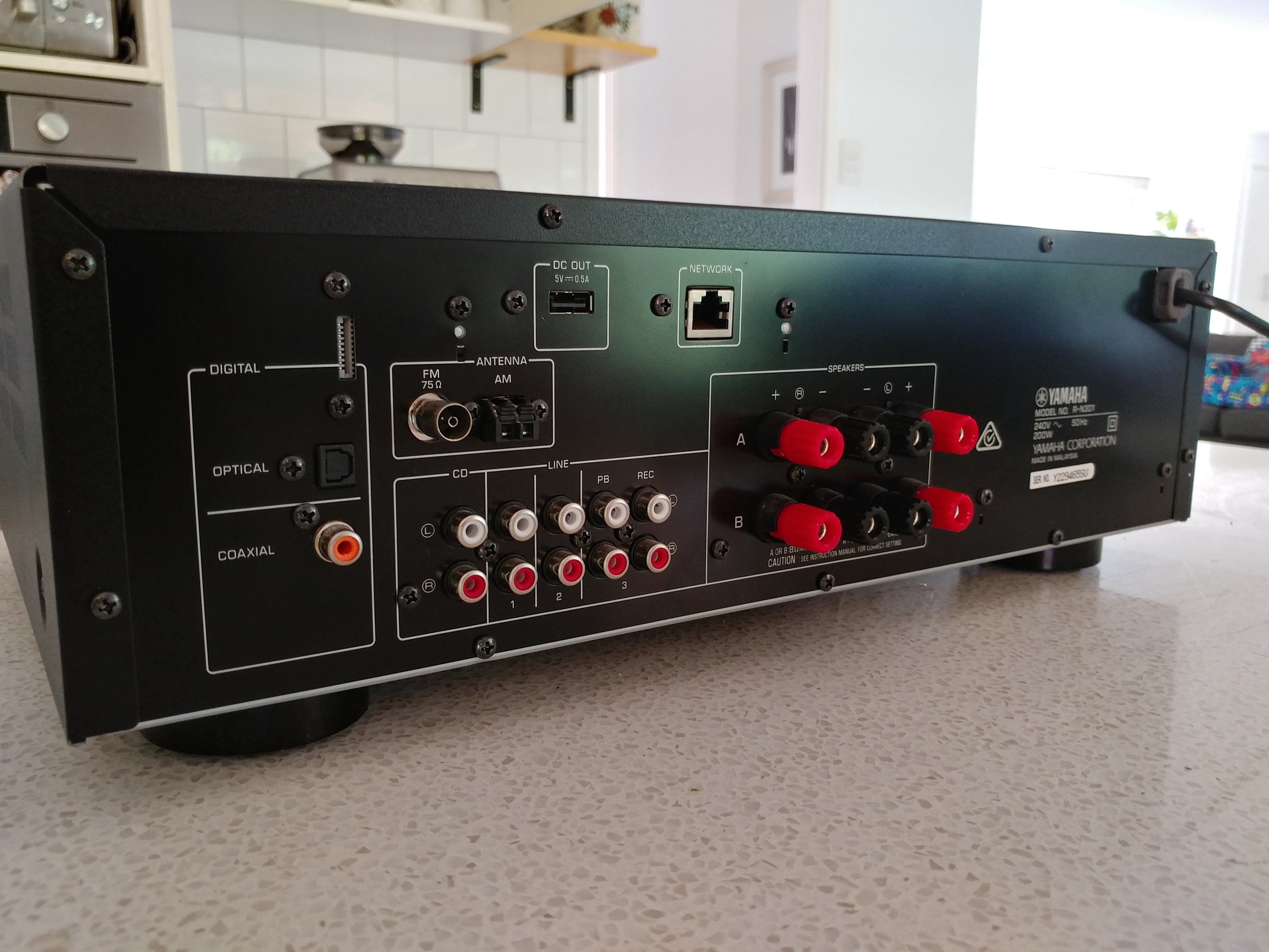 Fs Yamaha R N301 Network Stereo Receiver Classifieds