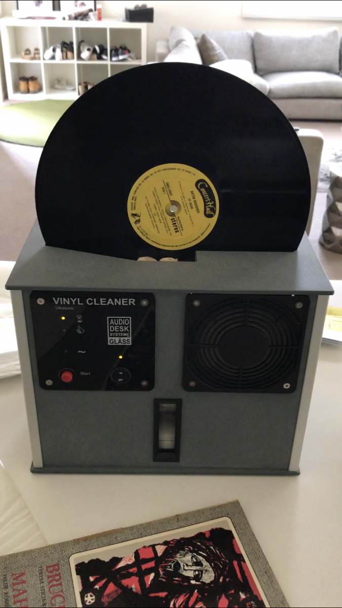 Fs Audio Desk Systeme Ultrasonic Record Cleaning Machine