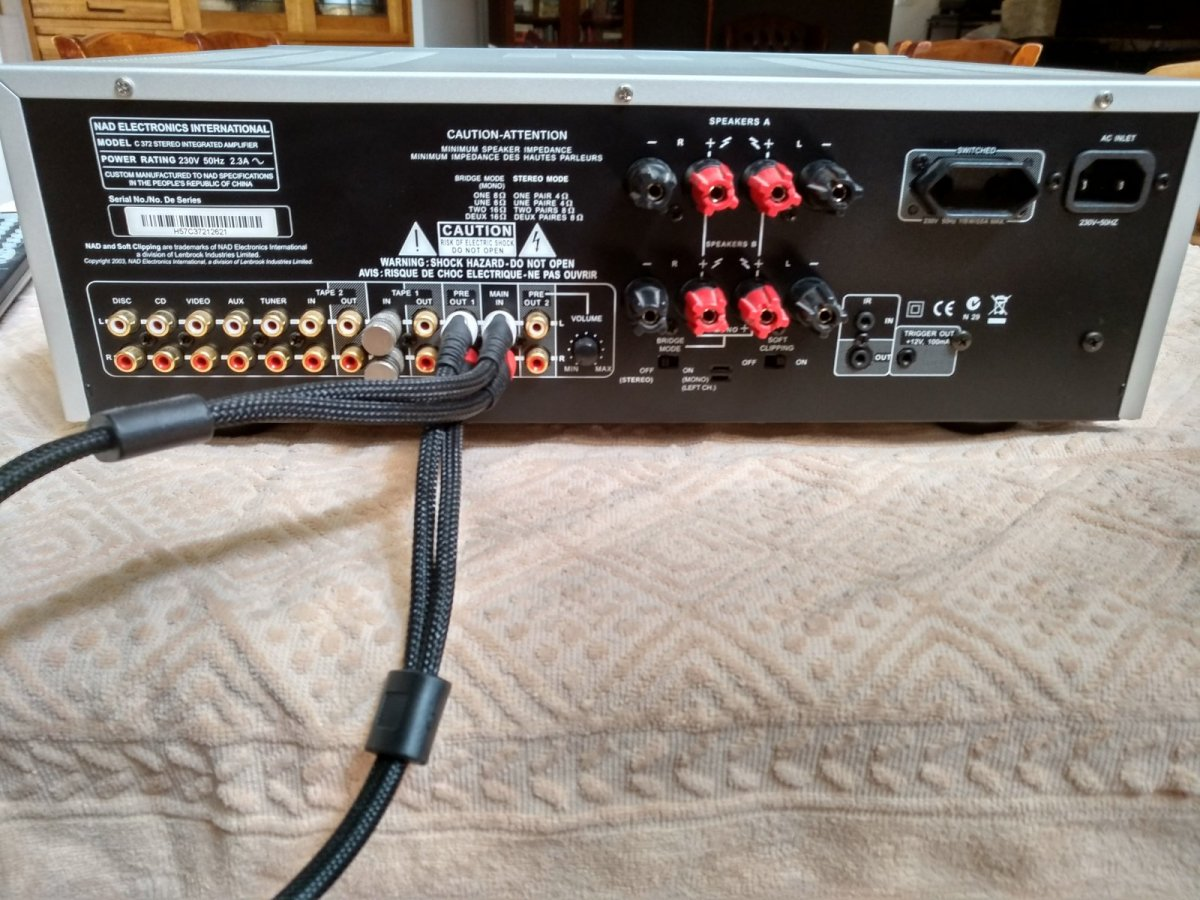 Sold Fs Nad C 372 Integrated Amplifier Classifieds