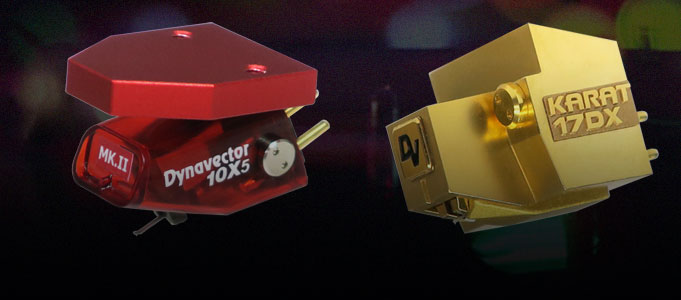 DYNAVECTOR KARAT 17DX AND 10X5 MKII CARTRIDGES RING IN THE CHANGES