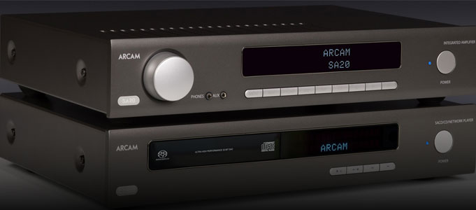 ARCAM ANNOUNCES AFFORDABLE INTEGRATED AMPS AND SACD PLAYER