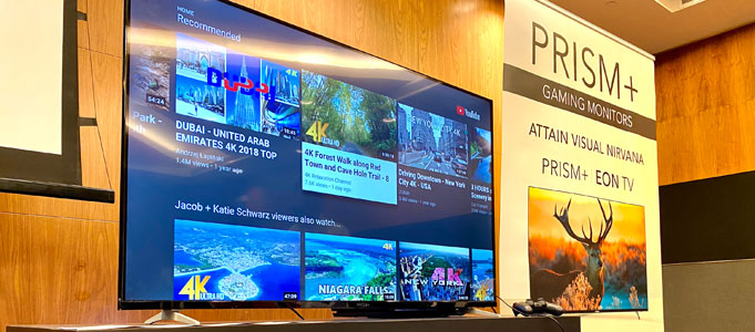 Ultra-High Definition TVs at Ultra-Low prices, PRISM+ Launches in Singapore