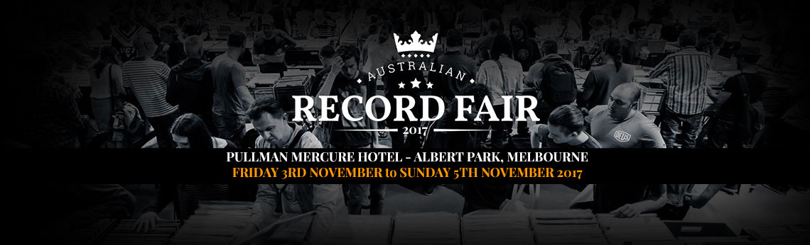 2017 Australian Record Fair, Melbourne