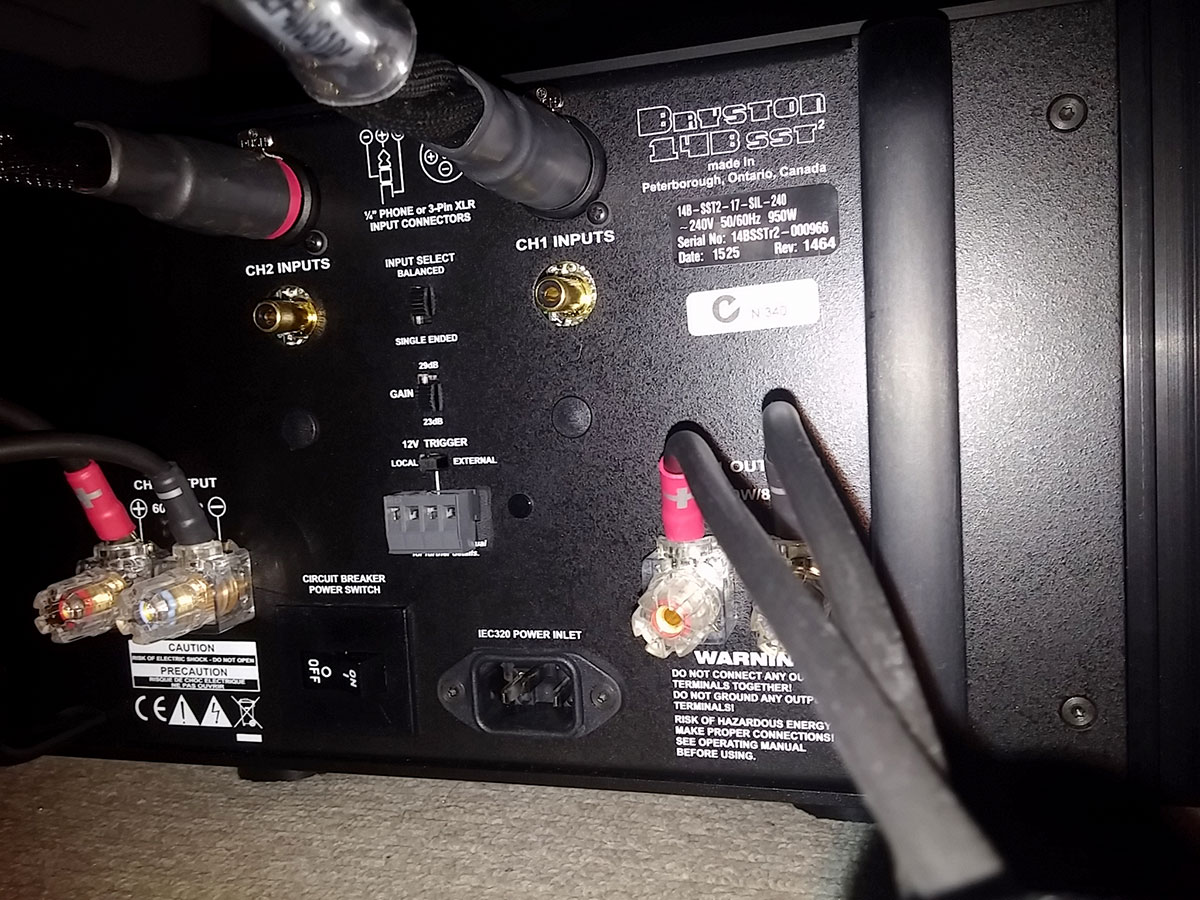 Bryston Amplifier Review