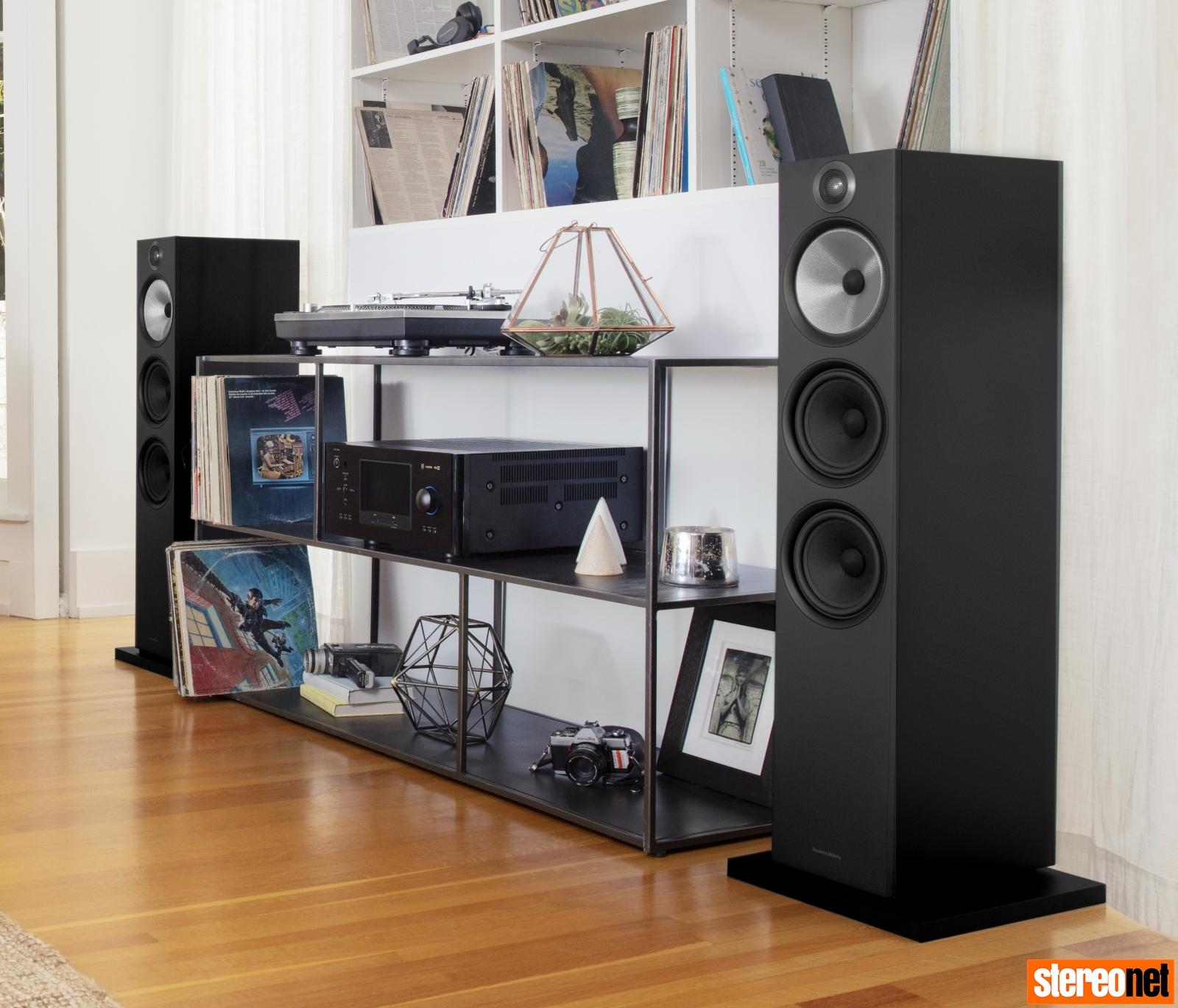 B&W 603 floorstanding loudspeaker