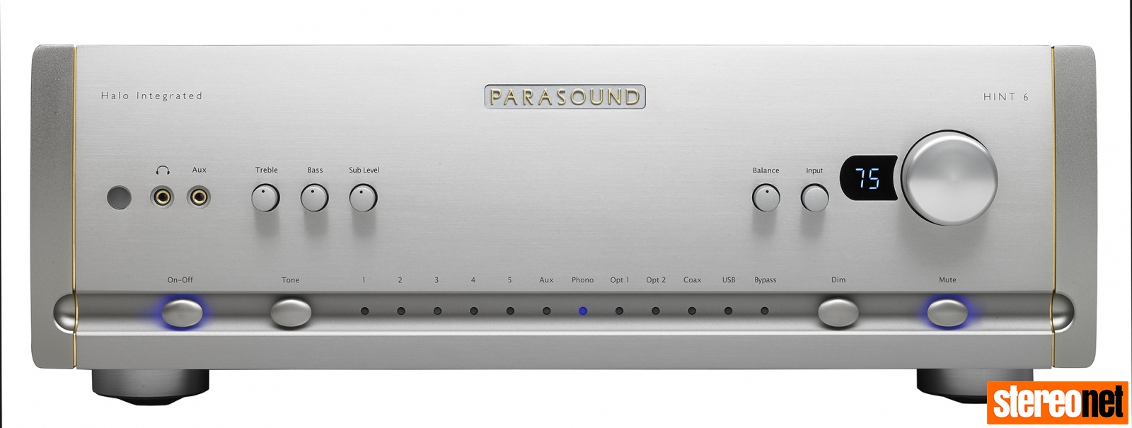 PARASOUND HALO 6 FRONT SILVER