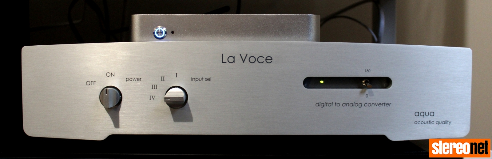Aqua La Voce S3 DAC with Fidelizer Nimitra S streamer