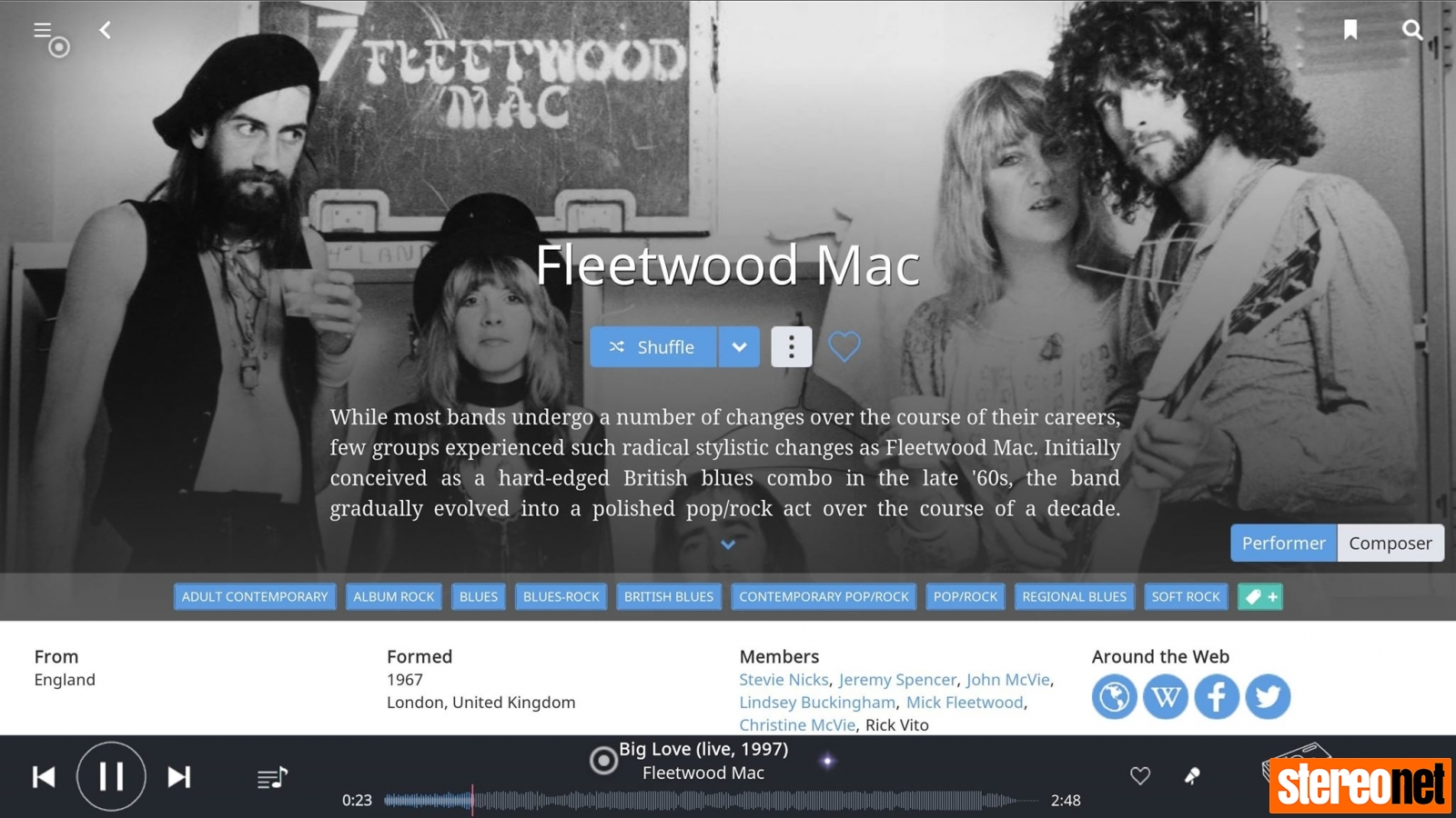 Fleetwood Mac NimitraS and Chord Qutest