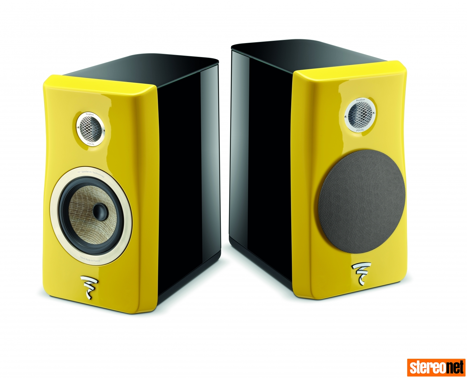 Focal N1 loudspeaker yellow cedia expo 2018