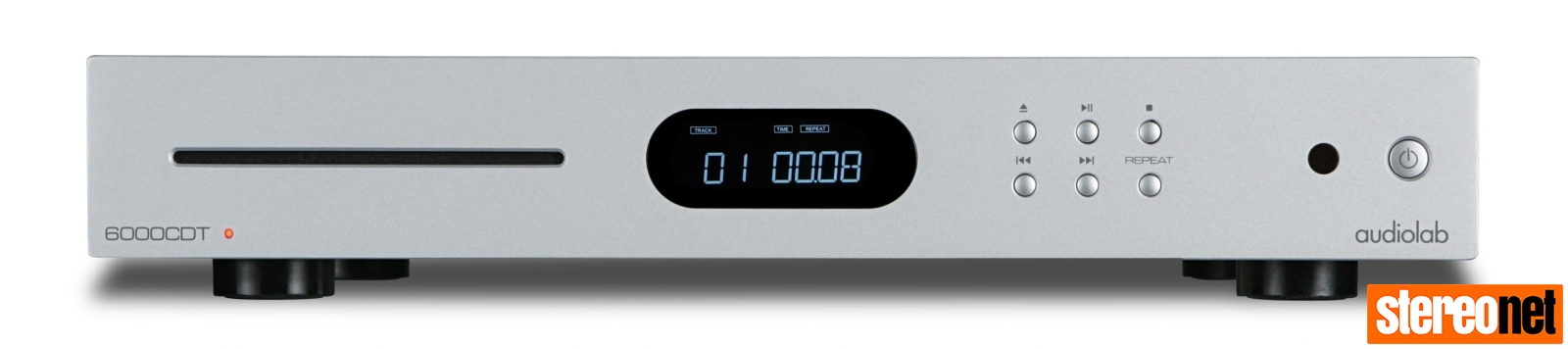Audiolab 6000CDT silver front