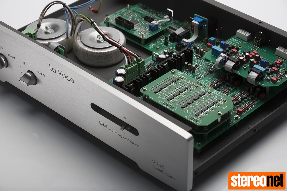 Aqua La Voce S3 DAC internal