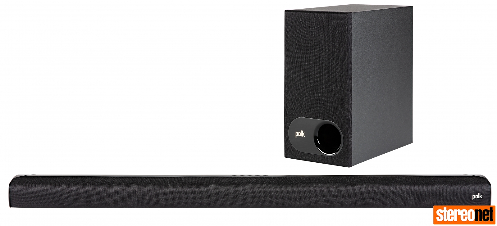 Polk Signa S2 soundbar and woofer