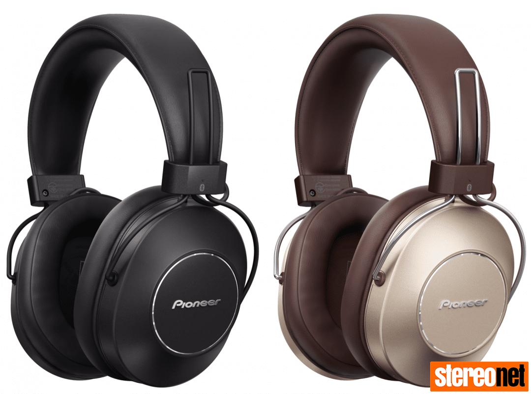 Pioneer S9 high resolution Bluetooth headphones