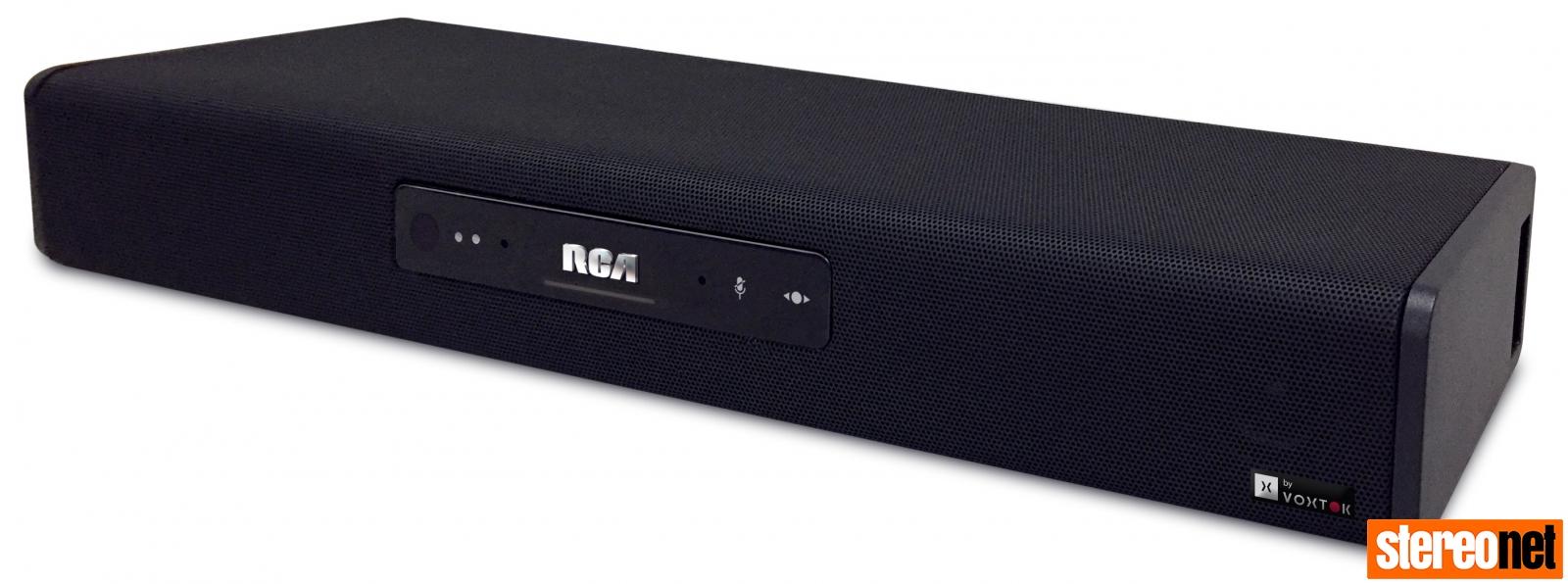 RCA Smart SoundBar and Voxtok
