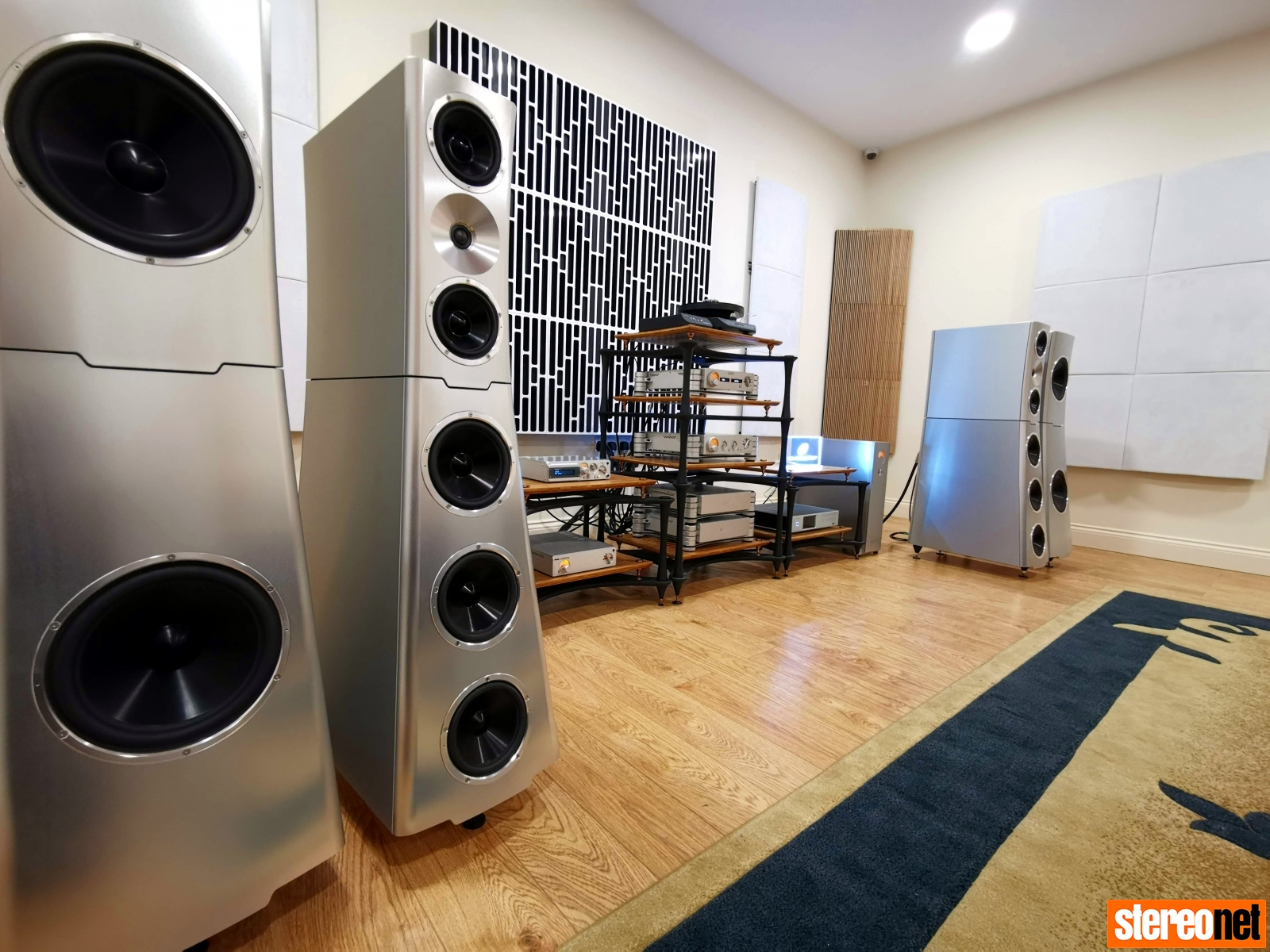 YG Acoustics Sonja XV Jr, NAGRA, SME - Nintronics and Padood