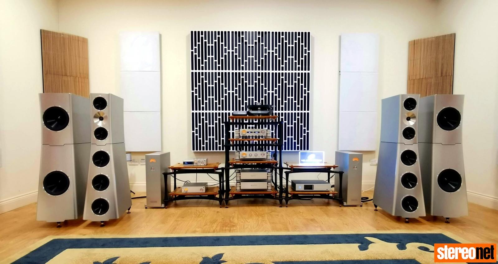 Nintronics demo - SME, NAGRA, YG Acoustics, Quadraspire