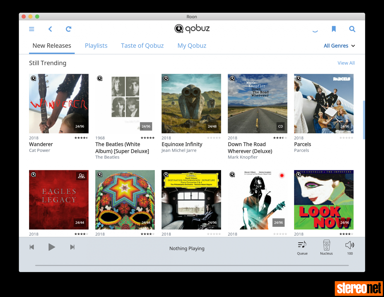 Roon 1 6 Adds Qobuz Streaming and New Roon Radio in the New Look