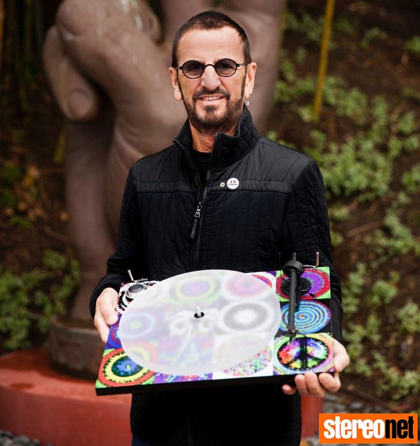 Ringo Starr Peace & Love Turntable