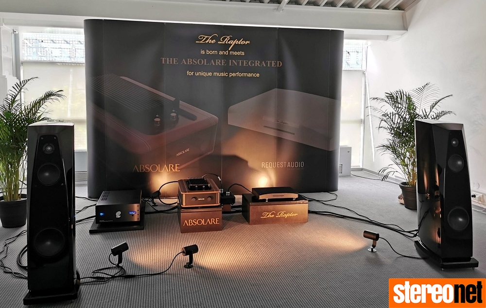 Absolare Raptor and Rockport Speakers High End Munich 2019 Report