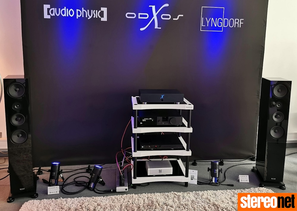Audio Physic x-odos Lyngdord High End Munich 2019