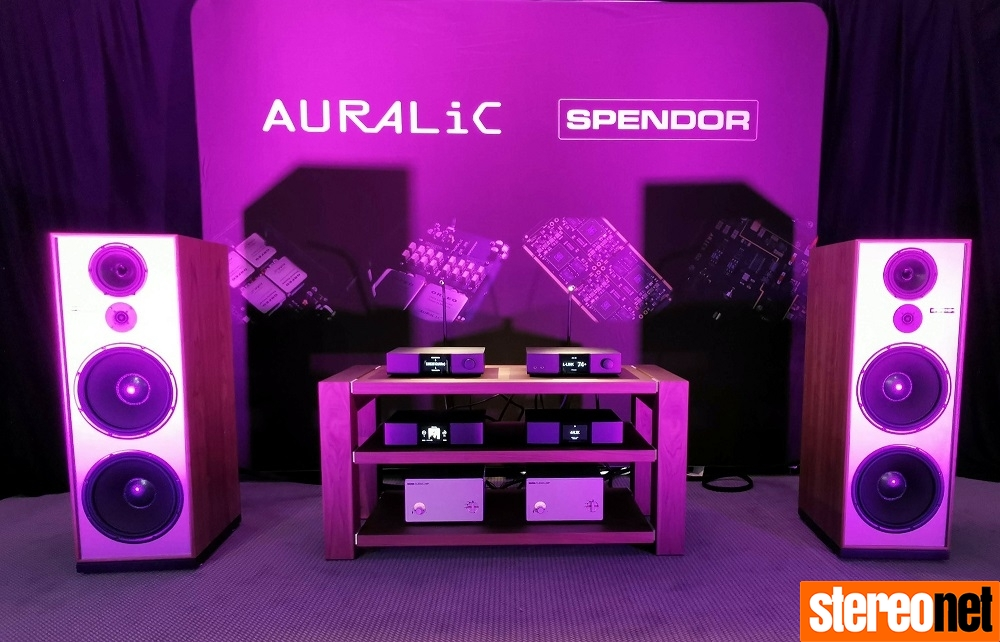 Auralic and Spendor High End Munich 2019