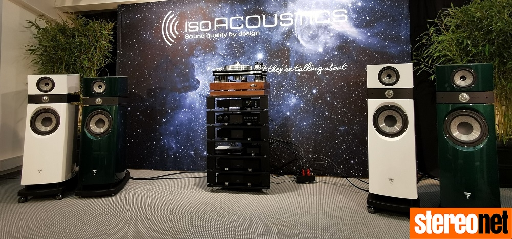 IsoAcoustics High End Munich 2019