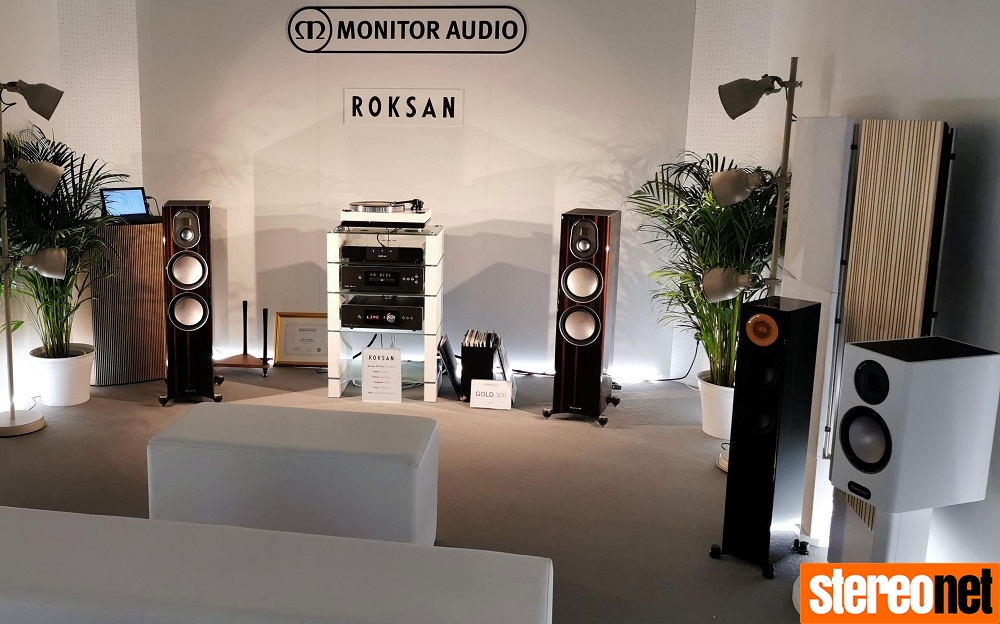 Roksan Monitor Blok High End Munich 2019