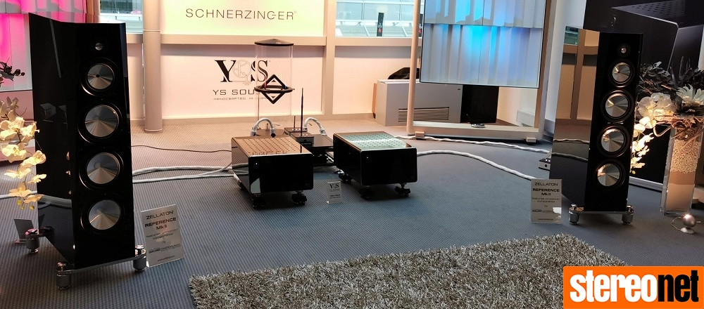 Zellaton YS Sound Schnerzinger High End Munich 2019