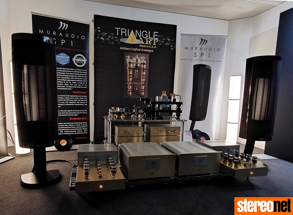 Muraudio Triangle Art High End Munich 2019