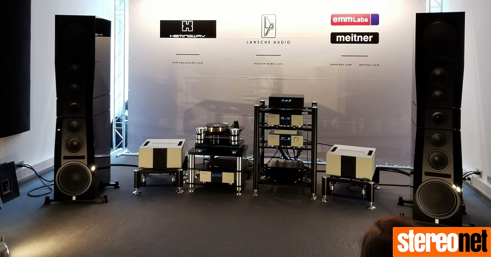 Lancshe Audio EMM Labs High End Munich 2019