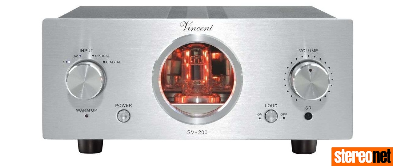 Vincent CD-200 TubeLine Valve Hybrid CD Player Released and