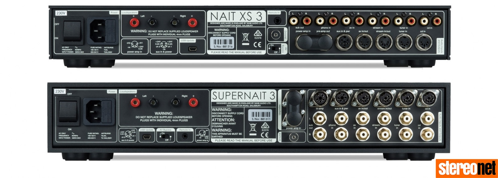 Nait XS3 and Supernait 3 demo review
