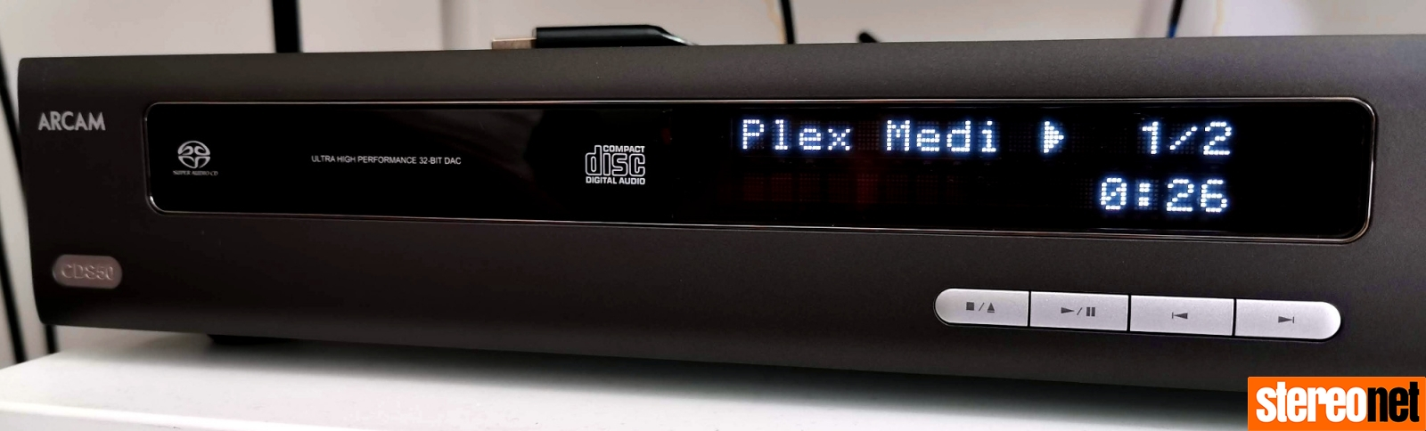 Arcam CDS50 Review