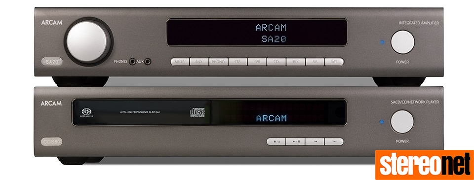 Arcam SA20 and CDS50 Review