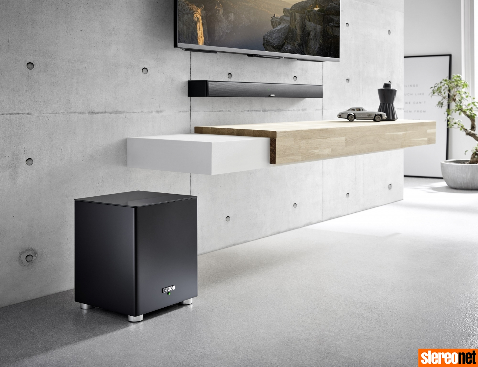 Canton Smart Soundbar 9 + Smart Sub 8